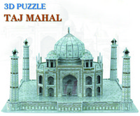 Wholesale Creative DIY D Wooden Jigsaw Puzzle Model Taj Mahal