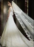 One-Layer beautiful meter - beautiful bridal veils New bride elegant and beautiful location meters long veil t24