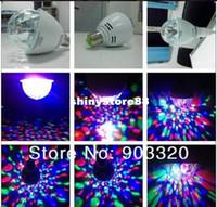 led lights disco - 2013 NEW Sell colors RGB Full color LED Rotating Light For Disco Nightclub KTV Dance Hall
