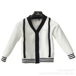 Wholesale Children boys and girls cotton sweater cardigan sweater dxy