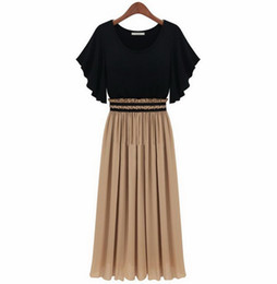Plus size novelty dresses S-4XL High Waist evening dress long Ruffle Fashion dresses
