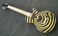 Wholesale New brand electric PL guitar with yellow color