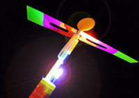 Wholesale Fun LED Flying Kids Toys Novelty Helicopter Arrow Birthday Christmas Party Gifts for Children