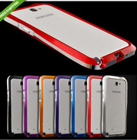 Aluminum Metal Hand Bumper Case Frame for Galaxy Note ii Not...