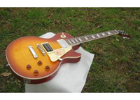 Wholesale Custom Shop VOS Top Iced Cherry Burst electric guitar Chinese guitar Do OEM service