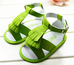 Wholesale Hot selling summer Baby girl sandals Kids first walker shoes toddler Buckle Strap shoes
