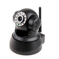 Wholesale 2015 HOT Network Monitoring System g Wifi Wireless IP Camera WiFi Internet Pan Tilt PTZ White Apexis IP Camera