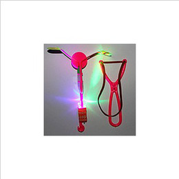 Wholesale 2013 New Queen Newest Toy LED Amazing Arrow Helicopter Flying Umbrella Space UFO LED arrow helico