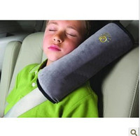 Wholesale Children Car seat belts pillow of Child Protect the shoulder Protection Newest cushi