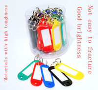 Wholesale Crossing the United States license key color plastic barrel Keychain Key Ring