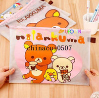 Wholesale New Rilakkuma File folder A4 documents file bag