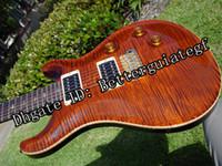 Solid Body artists guitars - 2004 Custom Artist Brown Tortoise Flame Hot Selling Guitar Strings Electric Guitars