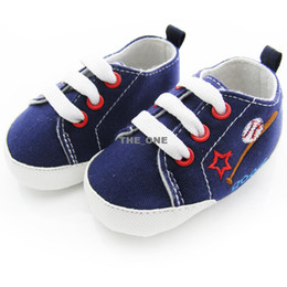 Wholesale 2013 baby baseball shoes baby toddler shoes non slip toddler shoes soft sole baby Walkers Wear baby lace up casual shoes