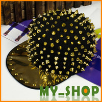 Wholesale New fashion unisex rivets street hip hop cap baseball cap