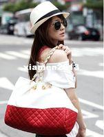 Wholesale New hotselling womens designer PU leather shoulder bag Diamond lattice totes handbags