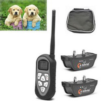 Wholesale AETERTEK AT Yard Remote Electric Trainer Large Two Medium Small Dog Pet Shock Collar Auto Anti Bark