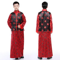 Wholesale Hanfu for man Tang Costume Chinese costume Traditional Chinese ethnic clothing men wedding suits Tang suit Kung fu jacket