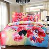 Chinese Ink Style Elegant Gorgeous Floral Queen King size Beddding sets Thicken Sueded Cotton Duvet cover Bed Sheet set high quality