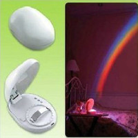 No projector lamp - Valentine s Day Gift LED Rainbow Projector lamp Light Artificial Rainbow Night Light A0051