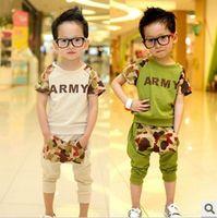 Boy 5T-6T Summer Boys girls of summer 2013 new Korean baby clothes short-sleeved sportswear summer, children