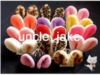Wholesale Rabbit ears hairpin rabbit ears hair pin animal ear hair accessory hair clip accessory