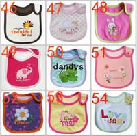 Wholesale 20pcs Baby bib Infant saliva towels Baby Waterproof bib Baby wear