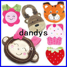 Wholesale 2013 Hot Sale Cartoon Baby Bibs Infant Animal Patters Baby Bibs Baby Pinny Mixed Order