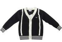 Wholesale Hot Sale New Korean Style Fashion Children s Cardigan boys and girls sweater cardigan Pure cotton cardigan