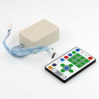 Wholesale IR Remote amp Control Box for LED Strip Light RGB Key
