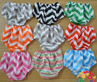 baby diaper pants - Summrer New baby satin bloomers Infant Chevron Satin Bloomers cute baby shorts girls chevron pants baby diaper cover S M L for T pc