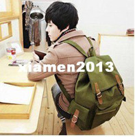 Wholesale Sales Korean Hot Backpack woman Shoulder bags Unisex Canvas shoulder bag S08