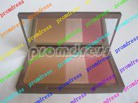 Wholesale Lowest price New Makeup colors blusher Flushed Bronzer Highlighter Blush g