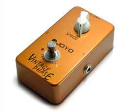 Wholesale JF VINTAGE classic PHASE PHASE JOYO JF Vintage Phase True Bypass Phaser Electric Guitar Bass Effects Pedals With a Speed Knob