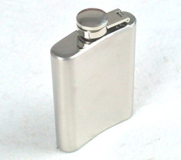 Wholesale 3 Oz Hip Flasks Stainless Steel Flagon Vodka Bottles Alcohol Portable Wine Pot Men Gift