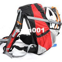 Wholesale Bicycle Bag Mountain Bike Packsack Backpack Road Cycling Knapsack Backpack Pack With Rain Cover Colors L New