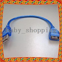Wholesale 30cm USB USB Male to Female Extension Cable