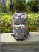 Unisex acu color - 3p backpack tactical backpack outdoor mountaineering bag male double shoulder travel bag ver5 messenger bag Color ACU