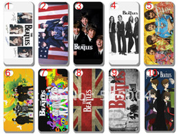 Wholesale The Beatles music band hard back case cover for iphone th