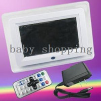 Wholesale 7 quot LCD Digital Living Photo Picture Frame Player CF