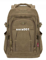 Wholesale Aerlis Quality canvas quot inch laptop backpacks for men Fashion large capacity travel bags A9116