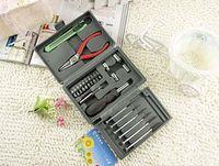 Wholesale 24 one Screwdriver Vise Utility Knife MINI Screwdrivers Set Household Hardware Kit Hand Tools