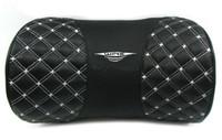 Wholesale 1pcs Faux Leather Auto Car Rest Cushion Neck Pillow Black White Black Red colours