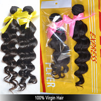 Wholesale A bundle quot to quot A Unprocessed Brazilian Virgin hair bundles extensions weft body wave Queen hair products