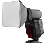 Wholesale Tracking Number Pixco Flash Diffuser Softbox Diffuser light For Canon Nikon Pentax Olympus Sony