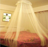 Wholesale Colorful Dome Closed Princess Mosquito Net Sleep Curtain Bed Mantle Student Mosquito Net