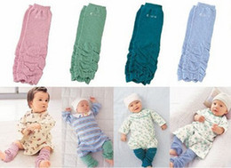 Fashion baby socks knee pad leggings socks dark green blue green pink cotton 30 cm children socks