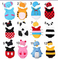baby rompers with hats- Baby romper bodysuits baby costume cl...