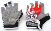 Wholesale 2013 New Outdoor Colorful Silica Gel Cycling Bike Bicycle Half Finger Gloves