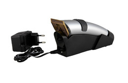 Wholesale electric hair cut machine clipper trimmer adult and baby fit CE with high quality silver color DINGLING RF