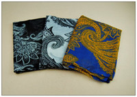 Printed beachwear designer - Cheap Designers Lady Scarf Summer High Quality Flower Printed Colorful Voile Scaves W8